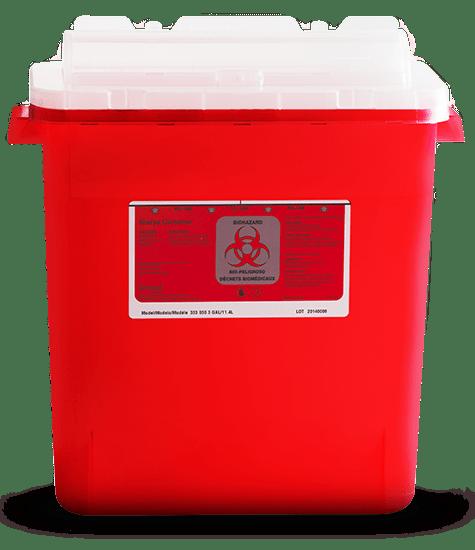 Sharps Waste Disposal Services