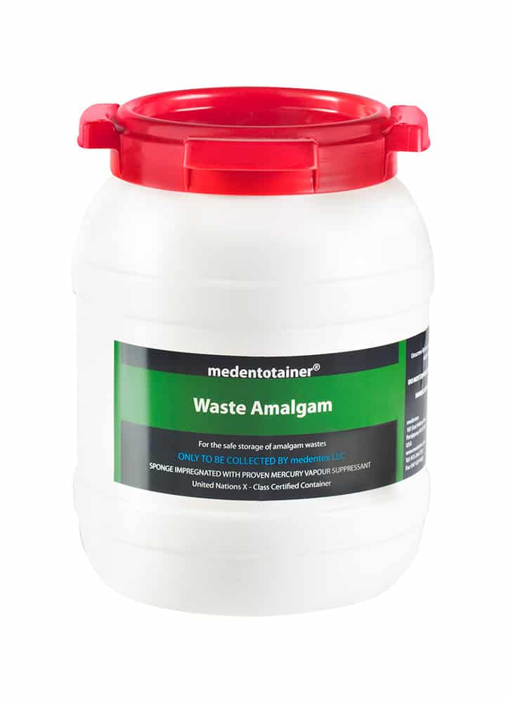 1.5 Gallon Amalgam Recycling Container