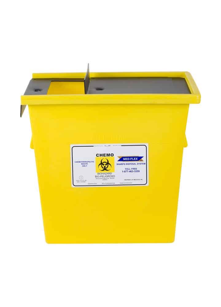 10 Gallon Reusable Chemotherapy Container