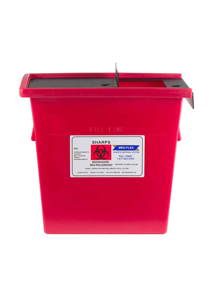 10 Gallon Reusable Sharps Container