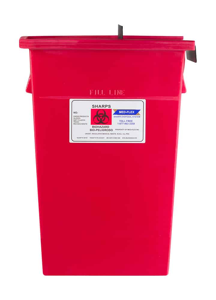 17 Gallon Reusable Sharps Container