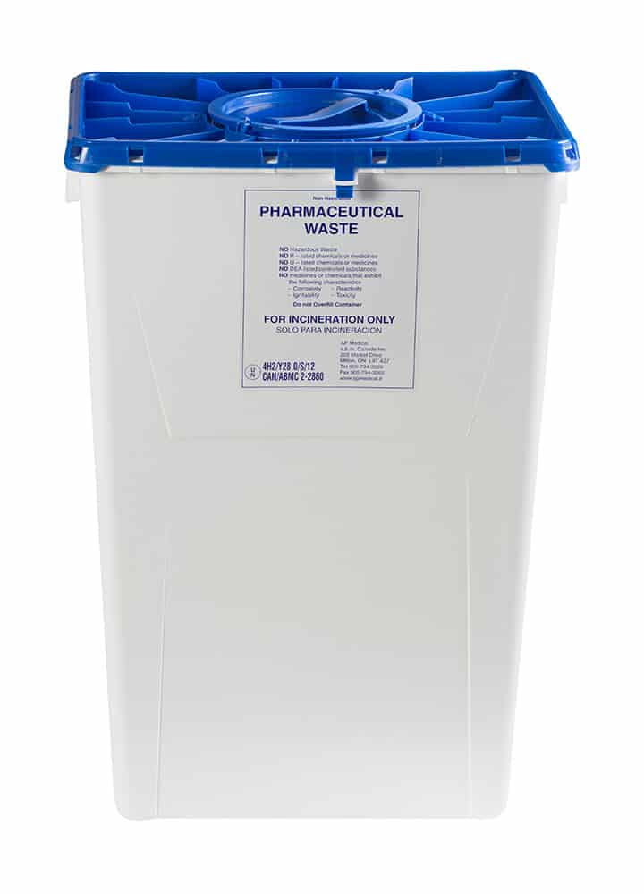 18 Gallon Pharmaceutical Container
