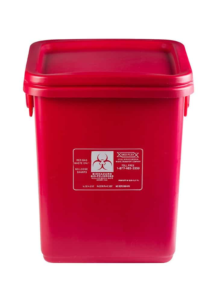 28 Gallon Reusable Waste Container Med Flex