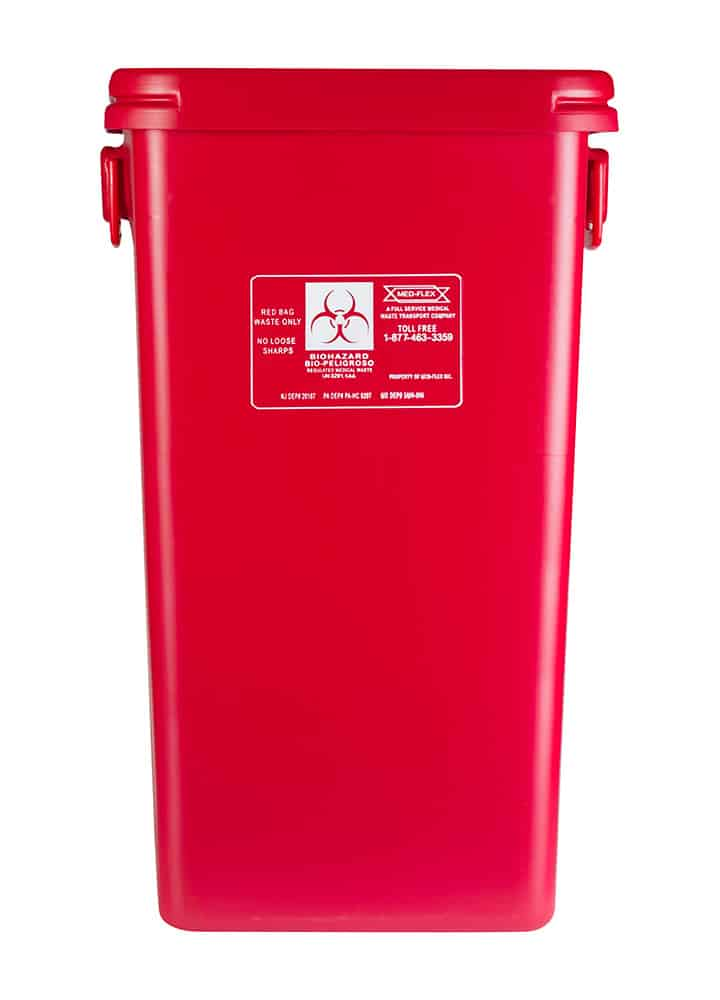 38 Gallon Reusable Waste Container