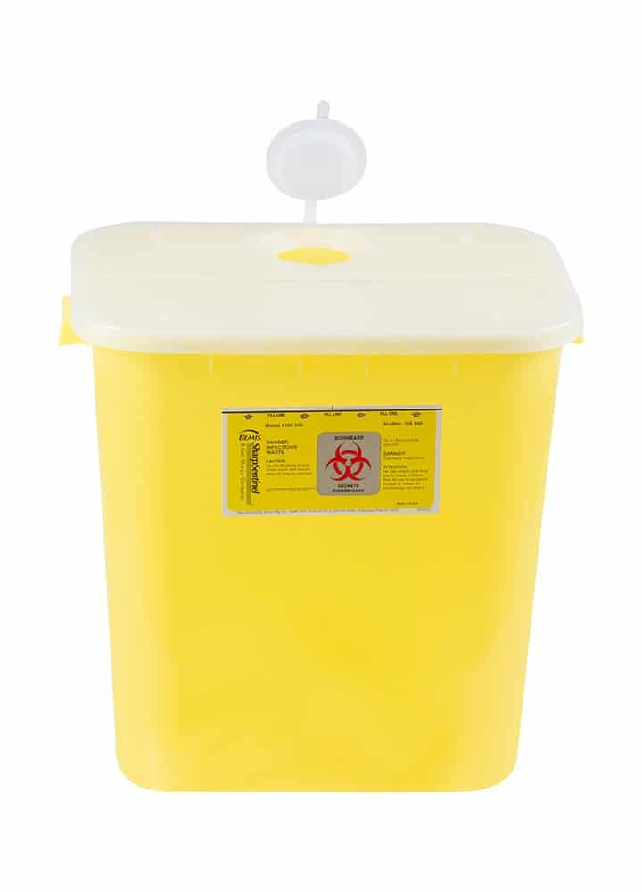 8 Gallon Disposable Chemotherapy Container Med Flex