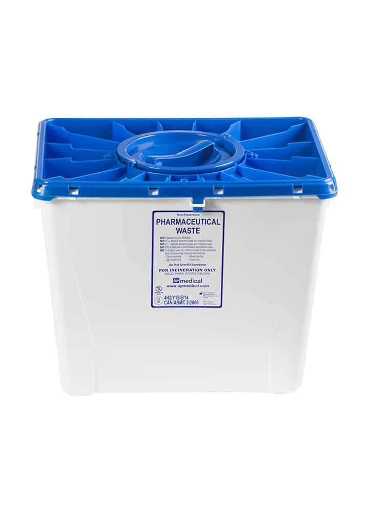 8 Gallon Pharmaceutical Container